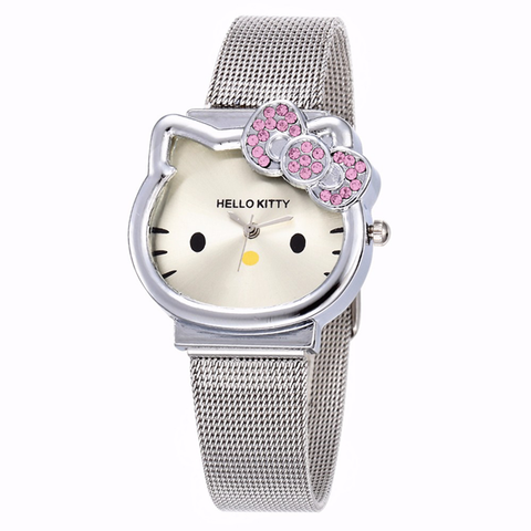 Reloj Hello Kitty - Metálico