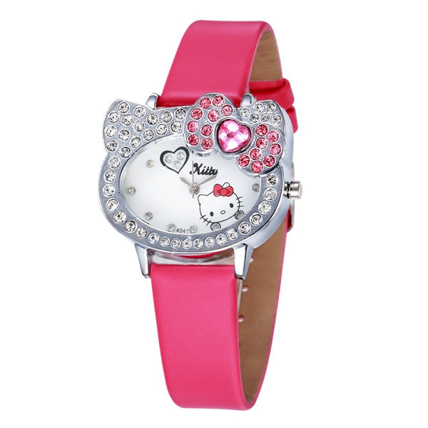 Reloj Hello Kitty - Rosa