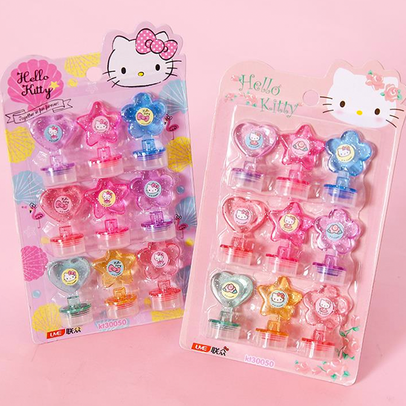 Set de sellos - Hello Kitty