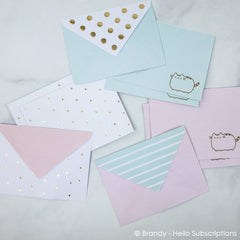 Set de cartas - Pusheen