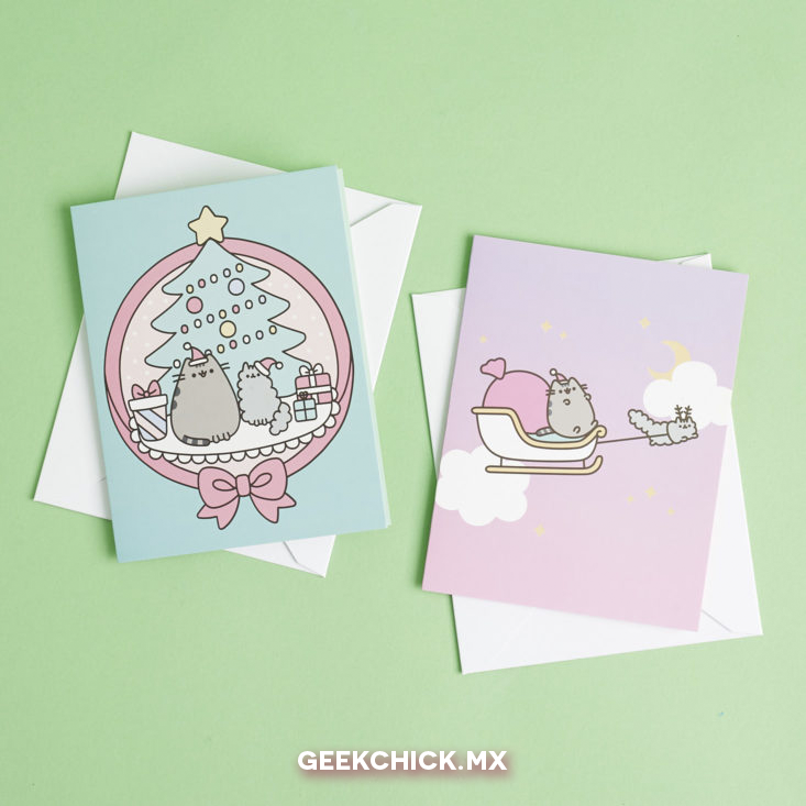 Set de Tarjetas - Pusheen