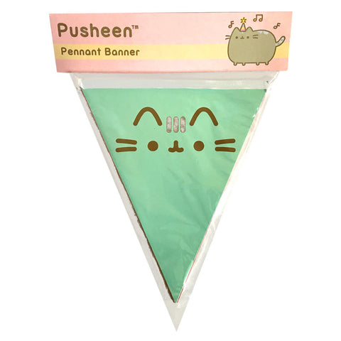 Decoración de banderines - Pusheen