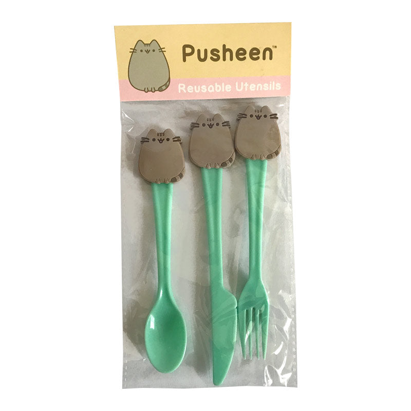 Set de cubiertos - Pusheen