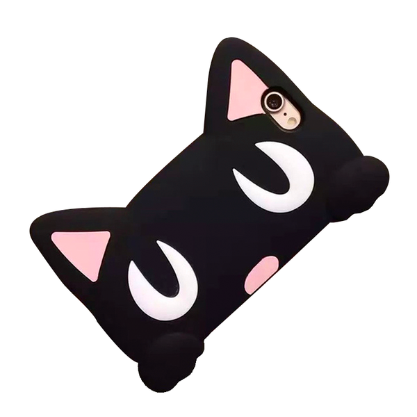 iPhone Case Gato Negro 3D
