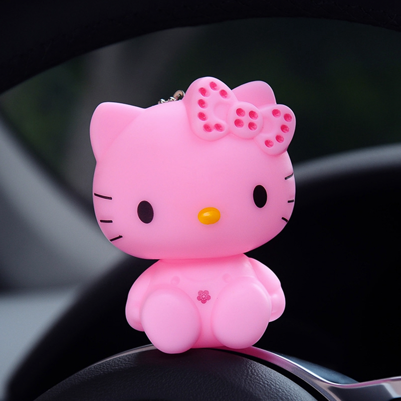 Llavero figura Hello Kitty - Rosa