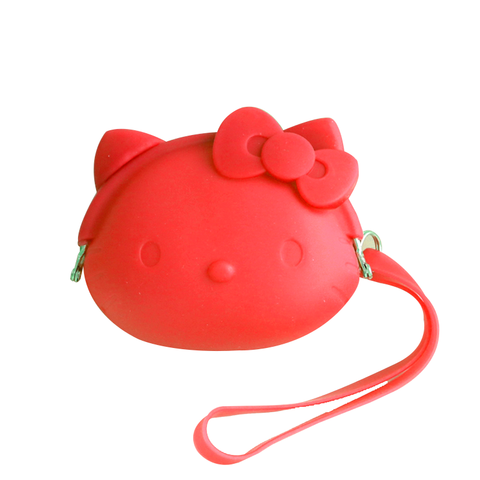 Monedero Hello Kitty - Rojo
