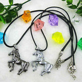 Unisex Horse Pendant Necklace