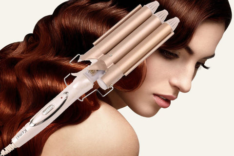 3 Barrels Curling Iron