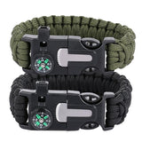 5-in-1 Survival Paracord Bracelet SALE