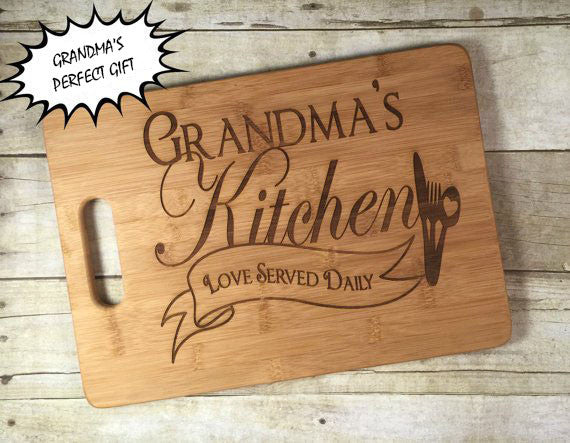 Grandma's Kitchen - Cutting Board