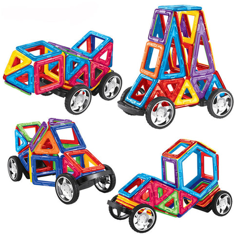 Magnetic Building Blocks Toys SALE