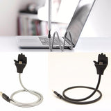 Flexible Phone Charging Cable & Stand Up Holder