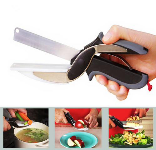 2 in 1 Knife & Cutting Board