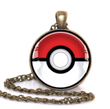 Pokemon Pokeball Pendant