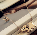 Family Elephant Necklace