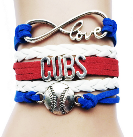 Chicago Cubs Bracelet