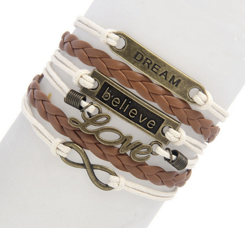 Dream Believe Bracelet