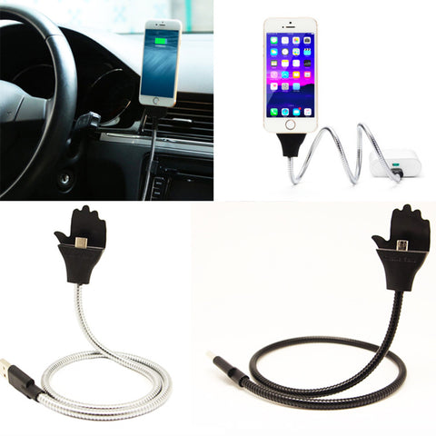 Flexible Phone Charging Cable & Stand Up Holder SALE