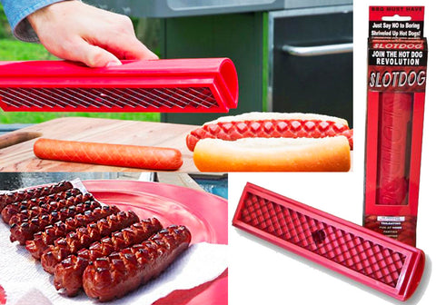 Hotdog Criss Cross Slicer