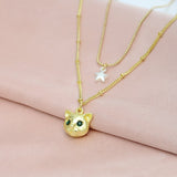 Lovely Little Cat Star Necklace