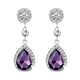 Crystal Waterdrop Earrings