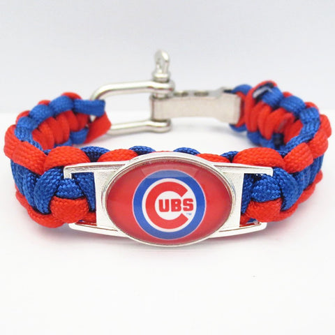 Chicago Cubs Paracord Bracelet