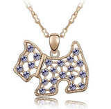 Dog Pendant Necklace