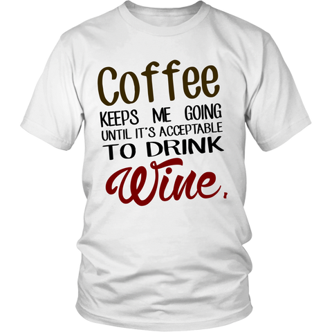 Coffee & Wine Tshirt