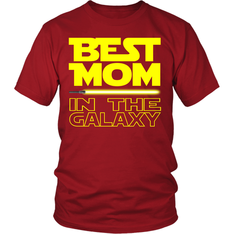 Best Mom In The Galaxy Tshirt