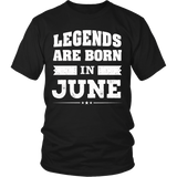 Legends Are Born In June