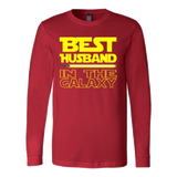 Best Husband In The Galaxy Tshirt