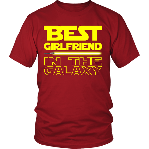 Best Girlfriend In The Galaxy Tshirt