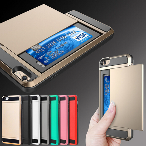 Smartphone Case Cover with Credit Card Storage