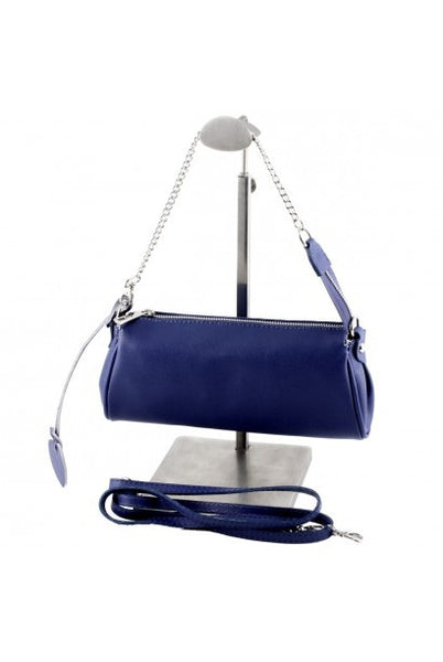 """Made In Italy"" Woman's Leather Handbag - Linen Hall"