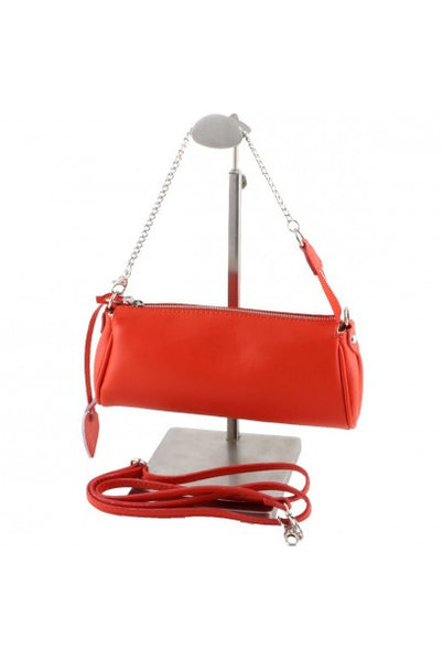 """Made In Italy"" Woman's Leather Handbag - Linen Hall - Italian Leather Handbags Large Purse Shop"