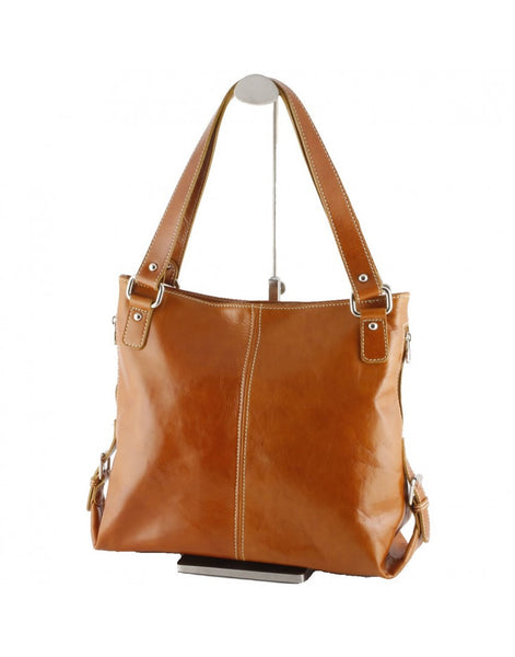 """Made In Italy""  Leather Shoulder Bag - Galgentor - Italian Leather Handbags Large Purse Shop"