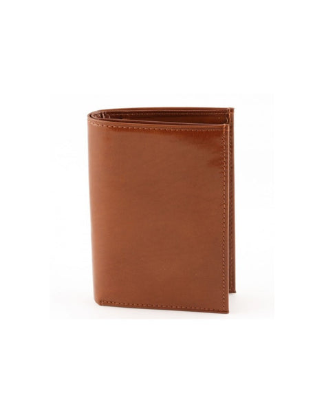 """Made In Italy"" Unisex Leather Wallet for Men or Women - Bi-fold - Leather Wallet Large Purse Shop"