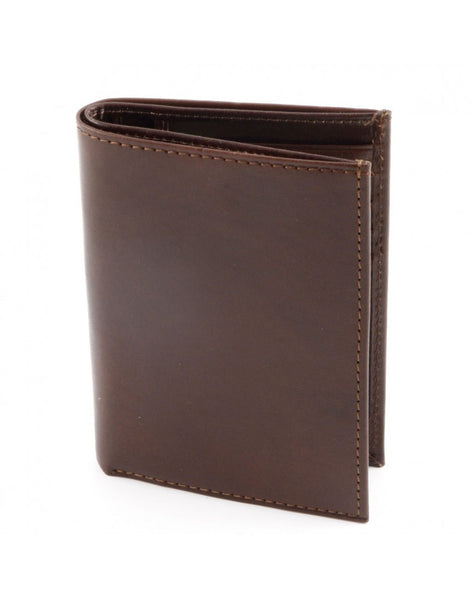 """Made In Italy"" Unisex Leather Wallet for Men or Women - Bi-fold"