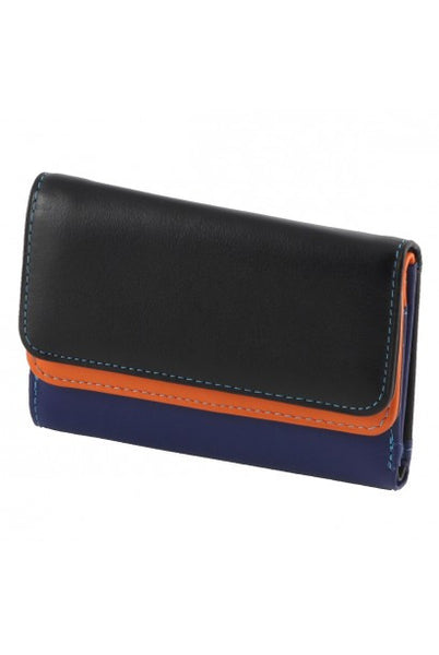 """Made In Italy"" Leather Wallet For Women - Multicolored - Leather Wallet Large Purse Shop"