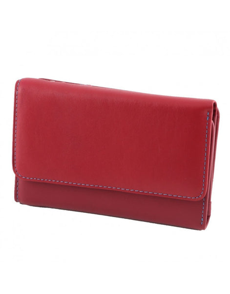 """Made In Italy"" Woman's Italian Leather Wallet  - Tri-fold - Leather Wallet Large Purse Shop"