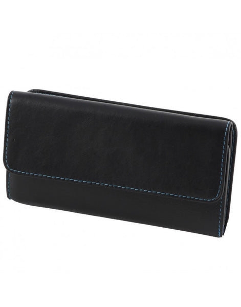 """Made In Italy"" Women's Leather Wallet - Tri-fold"