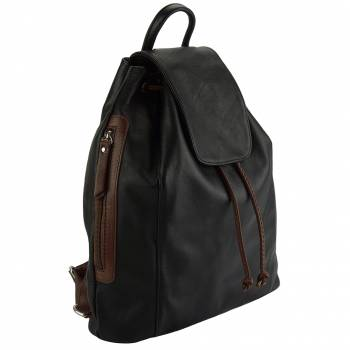 Firenze Italian Leather Bucket Bag / Backpack