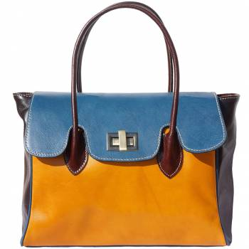 Firenze Colorful Italian Leather Handbag