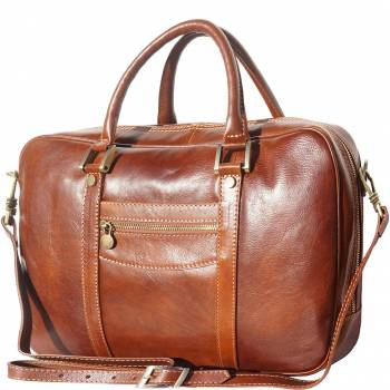 Firenze Italian Leather Briefcase For Him or Her