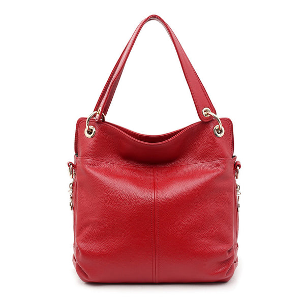 """Designer Inspired"" Italian Leather Handbag - Ella - Italian Leather Handbags Large Purse Shop"