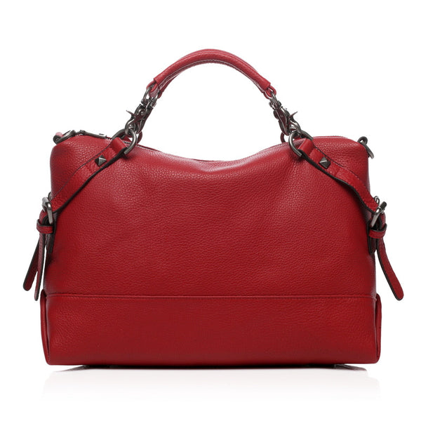 Designer Women's Leather Handbag - Raya