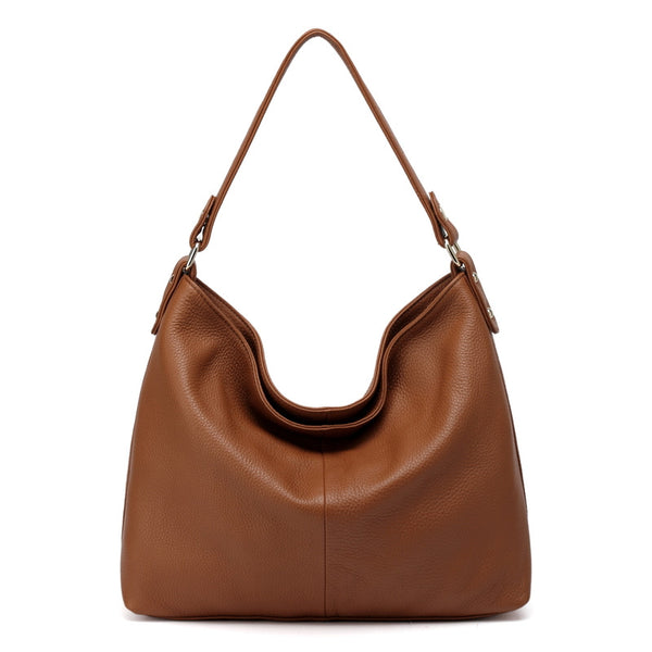 Designer Leather Hobo Bag