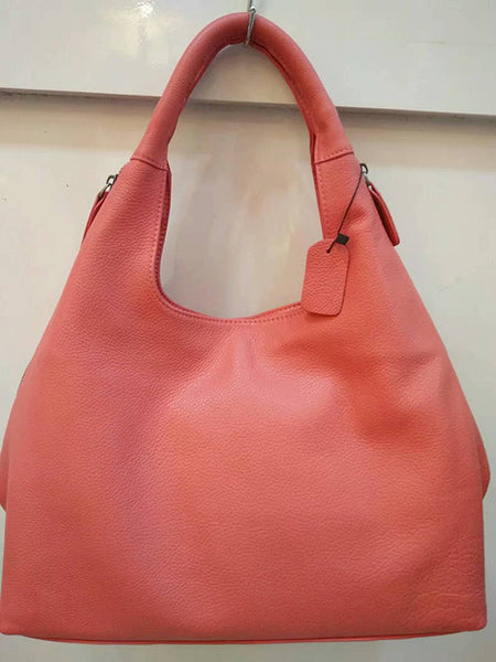 """Designer Inspired"" Vintage Genuine Leather Hobo Bag - Designer Inspired Handbags Large Purse Shop"