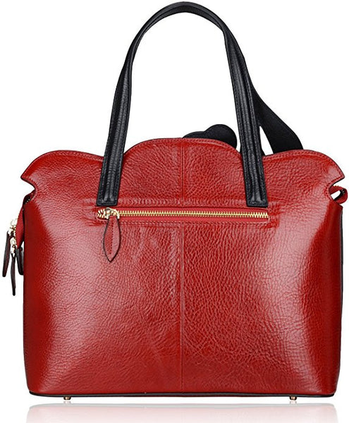 Designer High End Genuine Leather Shoulder Bag - Designer Inspired Handbags Large Purse Shop