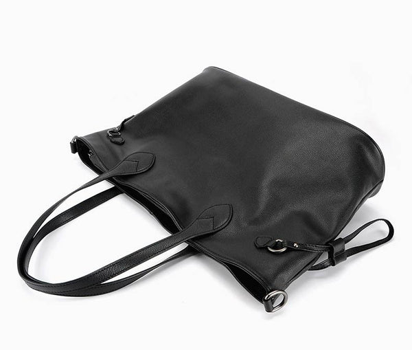 Designer Large Genuine Leather Shoulder Bag